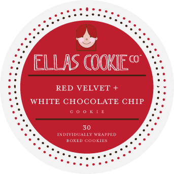 White Chocolate Chip/Red Velvet